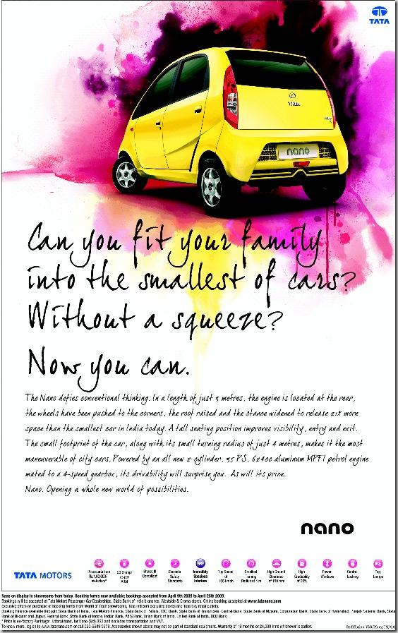 case study on tata nano car