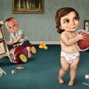 23 print ads with great illustration styles