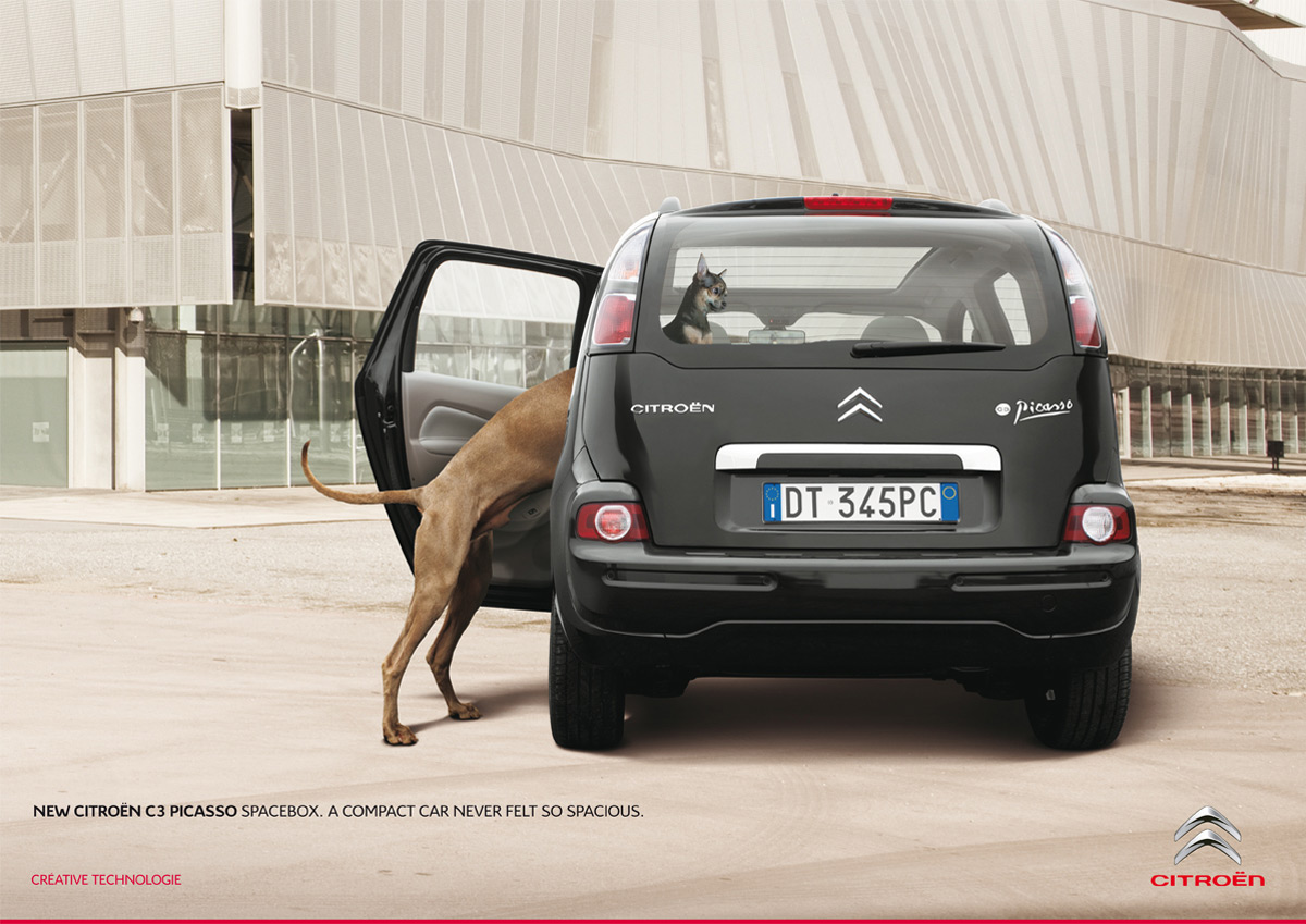 50 creative print ads for cars