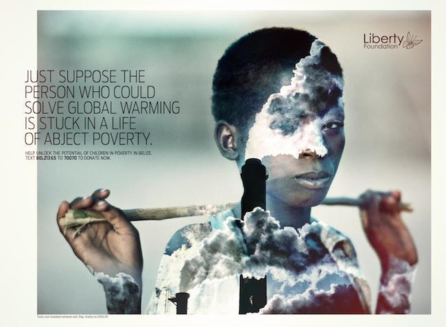 global warming charity