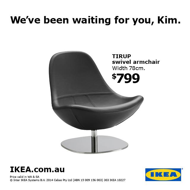 IKEA topical Kim Kardashian