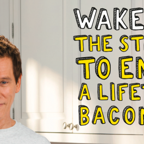 Wake up to Eggs with Bacon: great copywriting again from Grey, NY