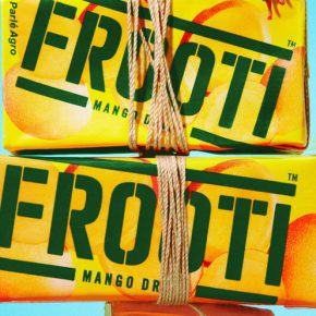 New Frooti: striking visual language