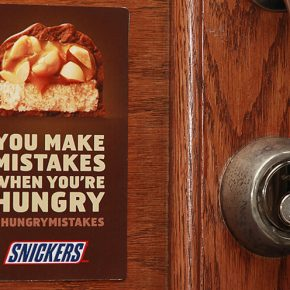 Snickers #hungrymistakes: idea taken to the next level