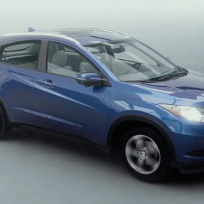 Honda HR-V: when CG meets idea